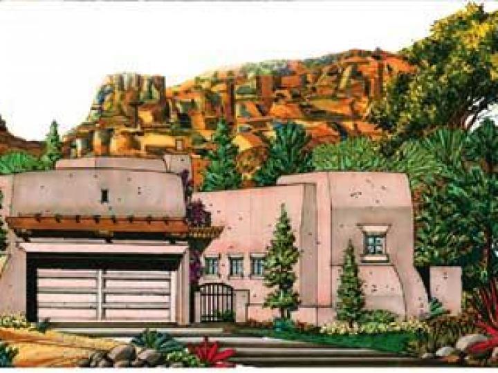 115 Bell Creek Way Sedona AZ Home. Photo 1 of 2