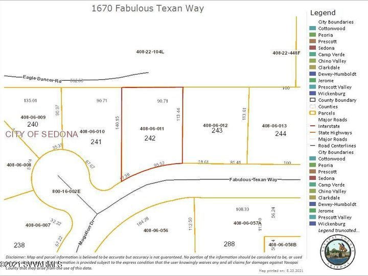 1670 Fabulous Texan Way Sedona AZ Home. Photo 9 of 9