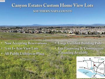100 Canyon Estates Cir Lot 1, American Canyon, CA